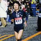 "Famous Road relay ""Hakone Ekiden""  on new year's day."